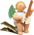 650/90/59, Angel with Banjo, on Clip