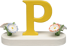 634/23/P, Letter P, with Flowers