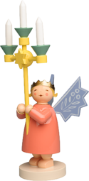 6236/2, Angel wearing Crown, with Candelabra
