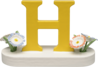 634/23/H, Letter H, with Flowers