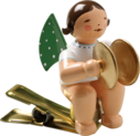 650/90/11, Angel with Cymbals, on Clip