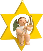 650/70/29, Angel with Trombone, in Star